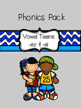 Phonics Pack: -ay and -ai