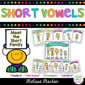 Word Work - Short Vowels/CVC word families