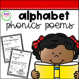 Phonics Poems - The Alphabet