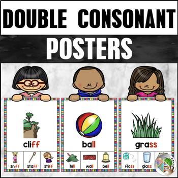 Double Consonant Ending Posters