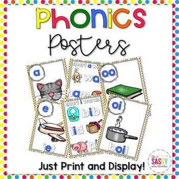Phonics Posters - Just Print and Display!