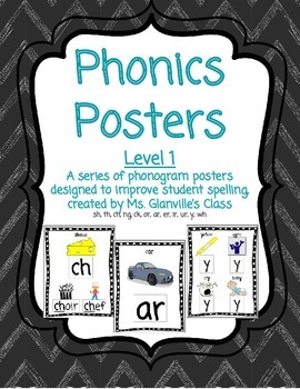 Phonics Posters - Level 1