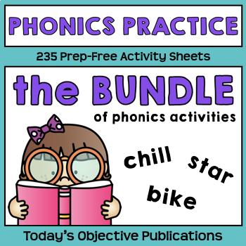 Phonics Practice Bundle