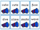 Phonics Practice Card Game - Sound it Shout with Vowel Sounds