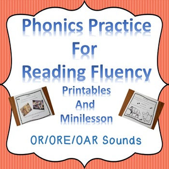 Reading Fluency Digraphs Literacy Center Short Stories and