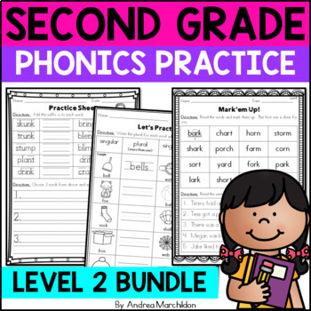 Level 2, Edition 2 Phonics Practice Pack - All Units 1 - 1