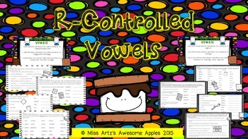 Phonics - R-Controlled Vowels (ar/er/ir/or/ur) & (air/are/
