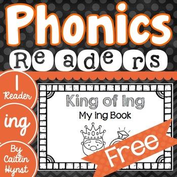 Phonics Reader - ing {free}