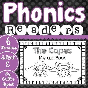 Phonics Readers - Silent E