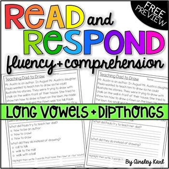 Phonics Reading Passages for Fluency & Comprehension - Lon