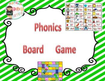 Phonics Rimes Game