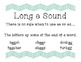 Phonics Rules charts