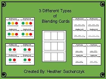 Phonics Segmentation Cards