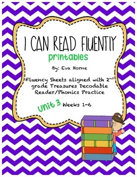 Phonics Selection-Unit 3 Treasures-Fluency-Decodable Readers