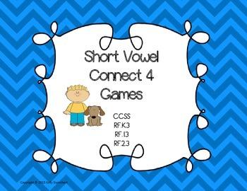 Phonics Short Vowel Games for Word Work