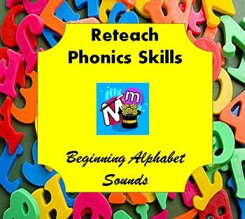 Phonics Skills: Beginning Alphabet Sounds