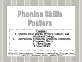 Phonics Skills Posters