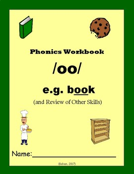 Phonics Skills Workbook - Focus /oo/ (e.g. book) & Review