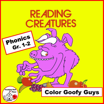Phonics | Color Goofy Guys | Gr 1-2 CORE |   Early Finishe