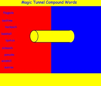 Phonics Smartboard Lesson: 2 Syllable Words and Compound Words