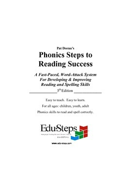 Phonics Steps to Reading Success   PSRS