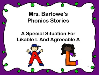 Phonics Lessons: 34 - A Special Situation For Likable L An