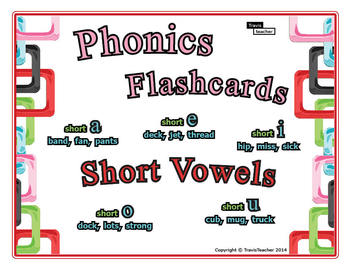 Phonics Story Flashcards: Short Vowels
