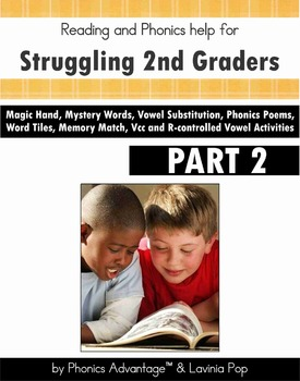 Phonics Strategies for Struggling 2nd Graders Part 2 Vcc a