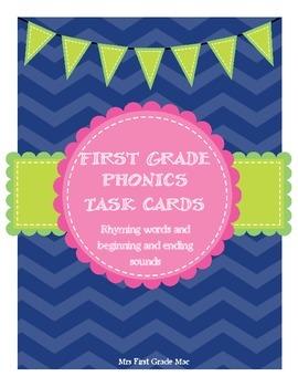 Phonics Task Cards