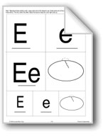Phonics: The Letter E