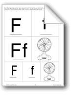 Phonics: The Letter F