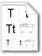 Phonics: The Letter T