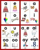 Phonics Vowel & Vowel Pattern Flashcards, Long Vowels, Vow