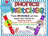Alphabet (Phonics) Watches!