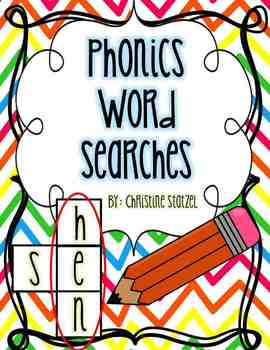 Phonics Word Searches