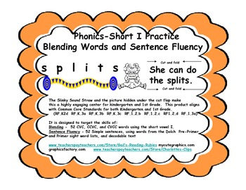 Phonics-short I practice          Blending Words and Sente