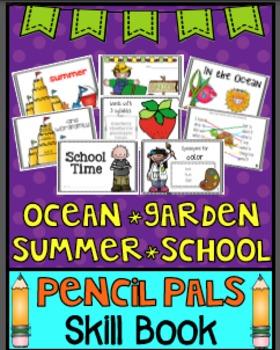 Ocean, Summer, Garden, School Mini Book
