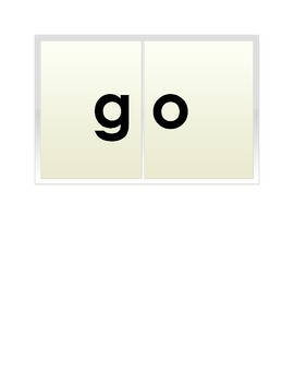Phonogram Cards - Over 50 Words