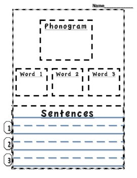 Phonogram Phonograms Multiple Use ack ed at ad ell et an e