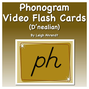 Phonogram Video Flash Cards  (D'nealian)