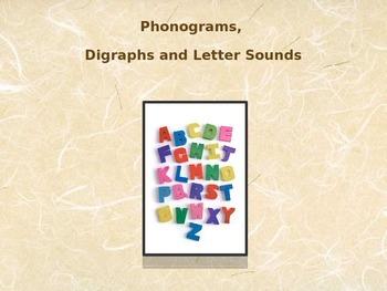 Phonogram/Digraph/Vowel Pattern Power Point