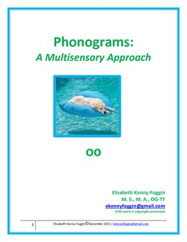 """Diphthong """"oo"""": A Multisensory Approach"""