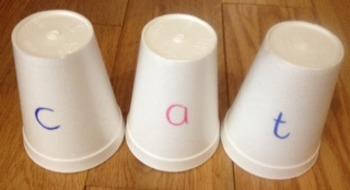 Phonological Awareness Cups
