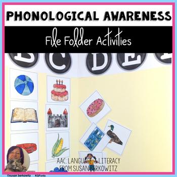 Phonological Awareness File Folder Fun Syllables & Sounds
