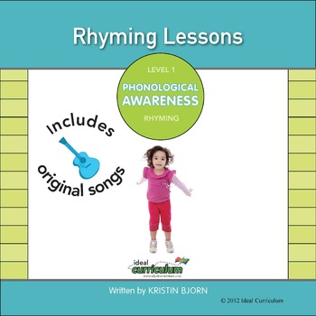 Phonological Awareness Kit 4 **Rhyming**