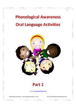 Phonological Awareness - Oral Language Activities - Part 1