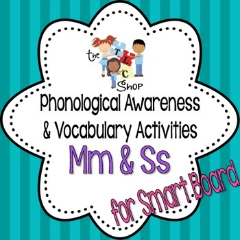 Phonological Awareness and Vocabulary Activities for Smart
