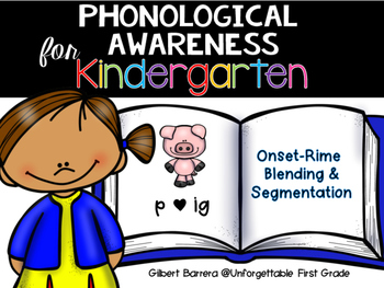 Phonological Awareness for Kindergarten {Onset & Rime}