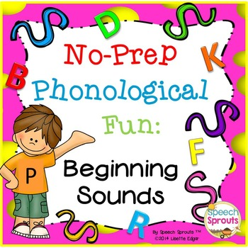 Phonological Fun: Identifying Beginning Sounds