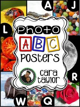 Photo Alphabet Posters